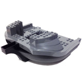 Lego Boat Hull Giant Bow 19 x 22 Complete Assembly, Top Color Dark Bluish Gray (47980c02)