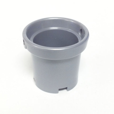 Lego Parts: Container, Bucket (Large) 2 x 2 x 1 2/3 (Pearl Light Gray)
