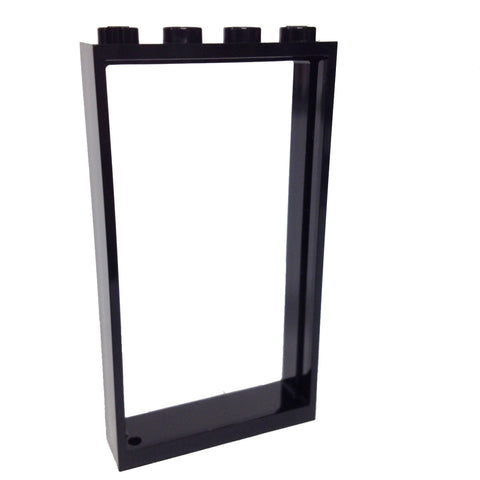 Lego Parts: Door Frame 1 x 4 x 6 (Black)
