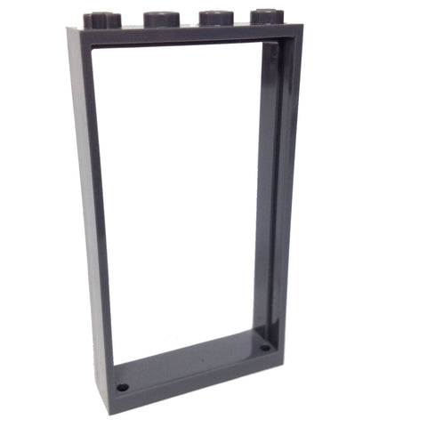 Lego Parts: Door Frame 1 x 4 x 6 (DBGray)