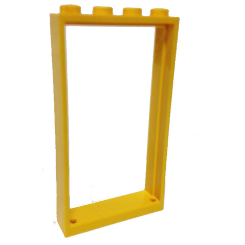 Lego Parts: Door Frame 1 x 4 x 6 (Yellow)