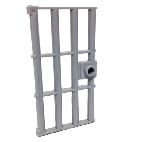 Lego Parts: Door 1 x 4 x 6 Barred with Stud Handle (LBGray)