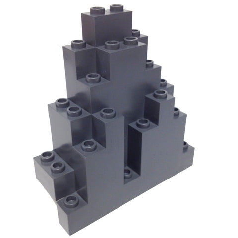 Lego Parts: Rock Panel Triangular (LURP) (DBGray)