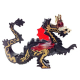 "MinifigurePacks: Lego Adventurers - Orient Expedition ""CLASSIC ORIENTAL DRAGON - Complete Assembly with Trans-Red Wings"""