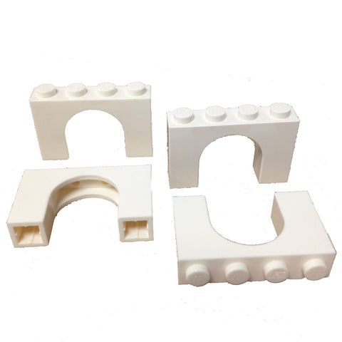 Lego Parts: Brick, Arch 1 x 4 x 2 (Pack of 4) (618201 - 6182)