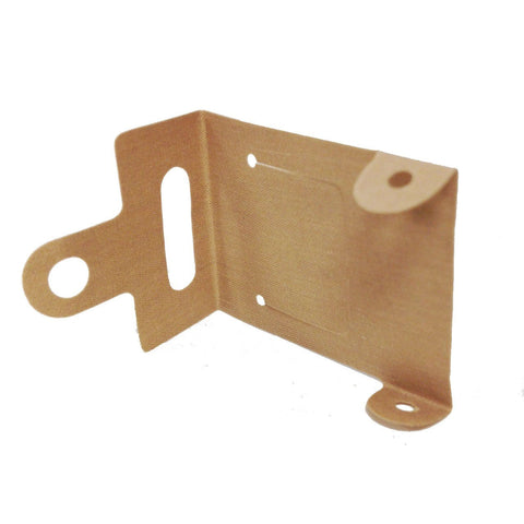 Lego Parts: Cloth Vehicle Roof with Flap Opening (Dark Tan)