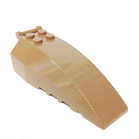 Lego Parts: Windscreen 8 x 4 x 2 (Dark Tan)
