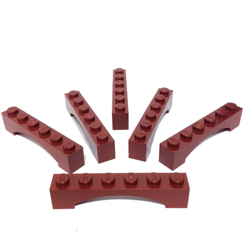 Lego Parts: Brick, Arch 1 x 6 Raised Arch (PACK of 6) (4656611 - 3455)