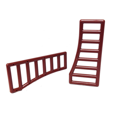 Lego Bar 1 x 8 x 3 - 1 x 8 x 4 Curved (PACK of 2) (4624030 - 95229)
