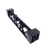 Lego Parts: Support 2 x 2 x 10 Girder Triangular Vertical - Type 4 - 3 Posts, 3 Sections (Black)