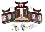 Lego Parts: Turntable 6 x 6 Sensei Wu - Spinjitzu DoJo (Ninjago Spinner)