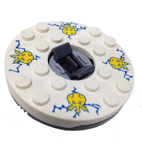 Lego Parts: Turntable 6 x 6 Jay - Spinjitzu (Ninjago Spinner)