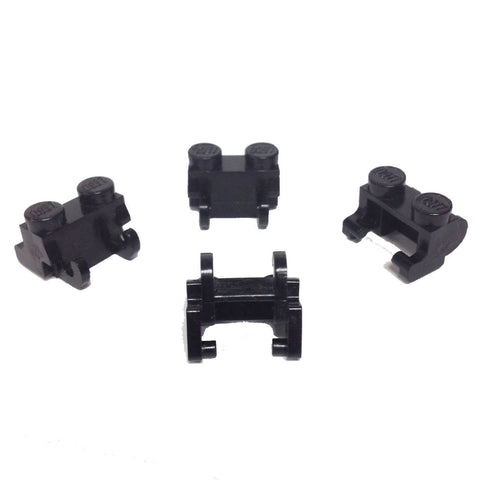 Lego Parts: Technic, Link Chain Large (PACK of 4 - Black)