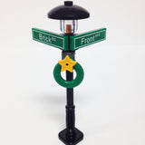 "MinifigurePacks: Lego® City/Town ""STREET SIGN - LAMP POST"" Intersection of Brick & Front"