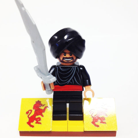 "MinifigurePacks: Lego® Indiana Jones Bundle ""CAIRO SWORDSMAN"" (IAJ037)"