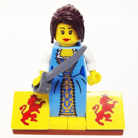 "MinifigurePacks: Lego® Pirates Bundle ""(1) GOVERNOR'S DAUGHTER"" ""(1) FIGURE DISPLAY BASE"" ""(1) FIGURE ACCESSORIES"""