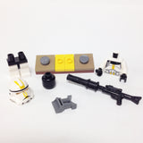 "MinifigurePacks: Lego Star Wars Bundle ""(1) STAR CORPS TROOPER, EP.3"" ""(1) FIGURE DISPLAY BASE"" ""(2) FIGURE ACCESSORIES"""