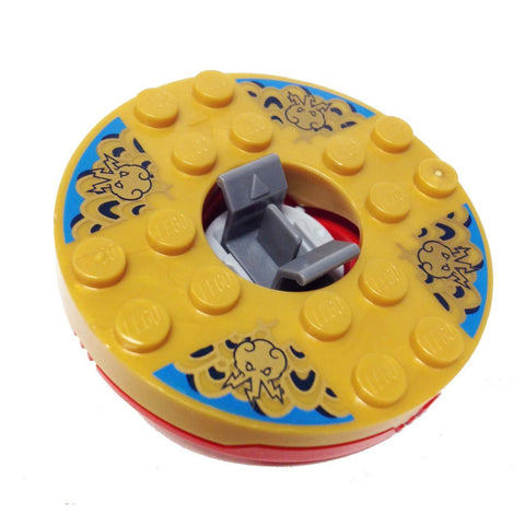 Lego Parts: Turntable 6 x 6 Jay DX - Skeleton Bowling (Ninjago Spinner)