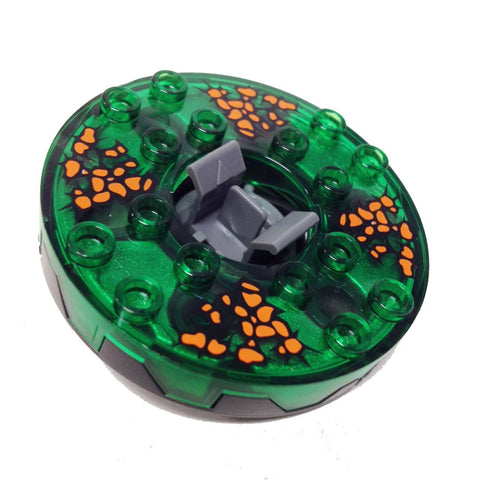 Lego Parts: Turntable 6 x 6 Chokun - Weapon Pack (Ninjago Spinner)