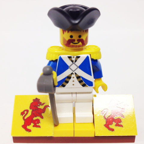 "MinifigurePacks: Lego® Pirates Bundle ""(1) IMPERIAL SOLDIER - OFFICER"" ""(1) FIGURE DISPLAY BASE"" ""(1) FIGURE ACCESSORY"""