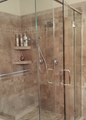clean shower