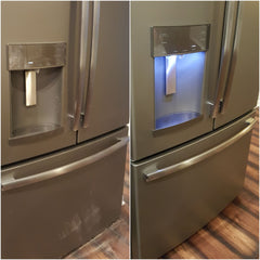 How to remove fingerprints from stainless steel
