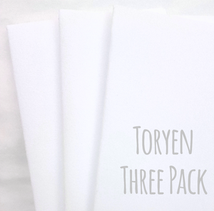 Microfiber Towels, 3 pack of Toryen Microfiber