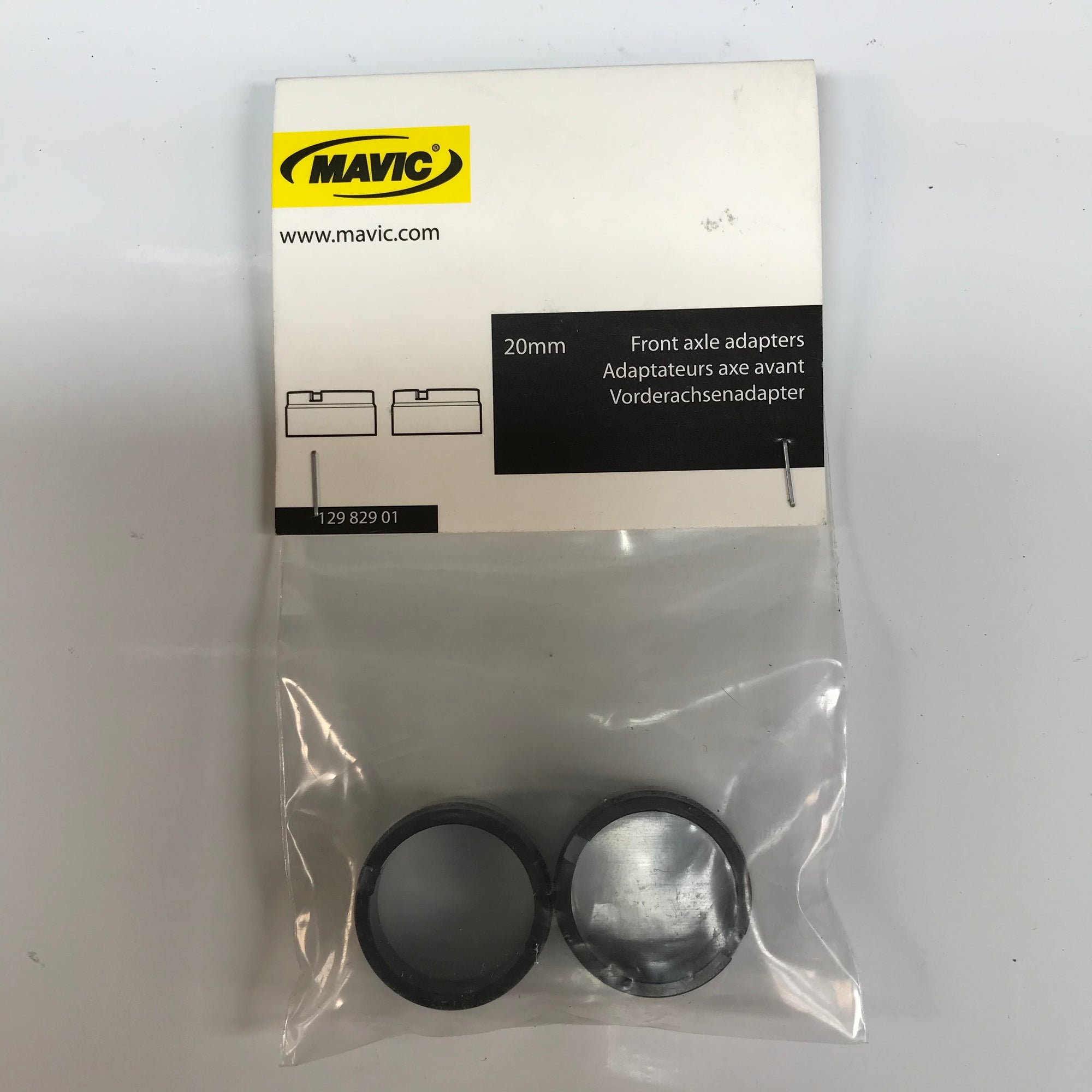 Mavic 20mm Front Axle Adapters 12982901