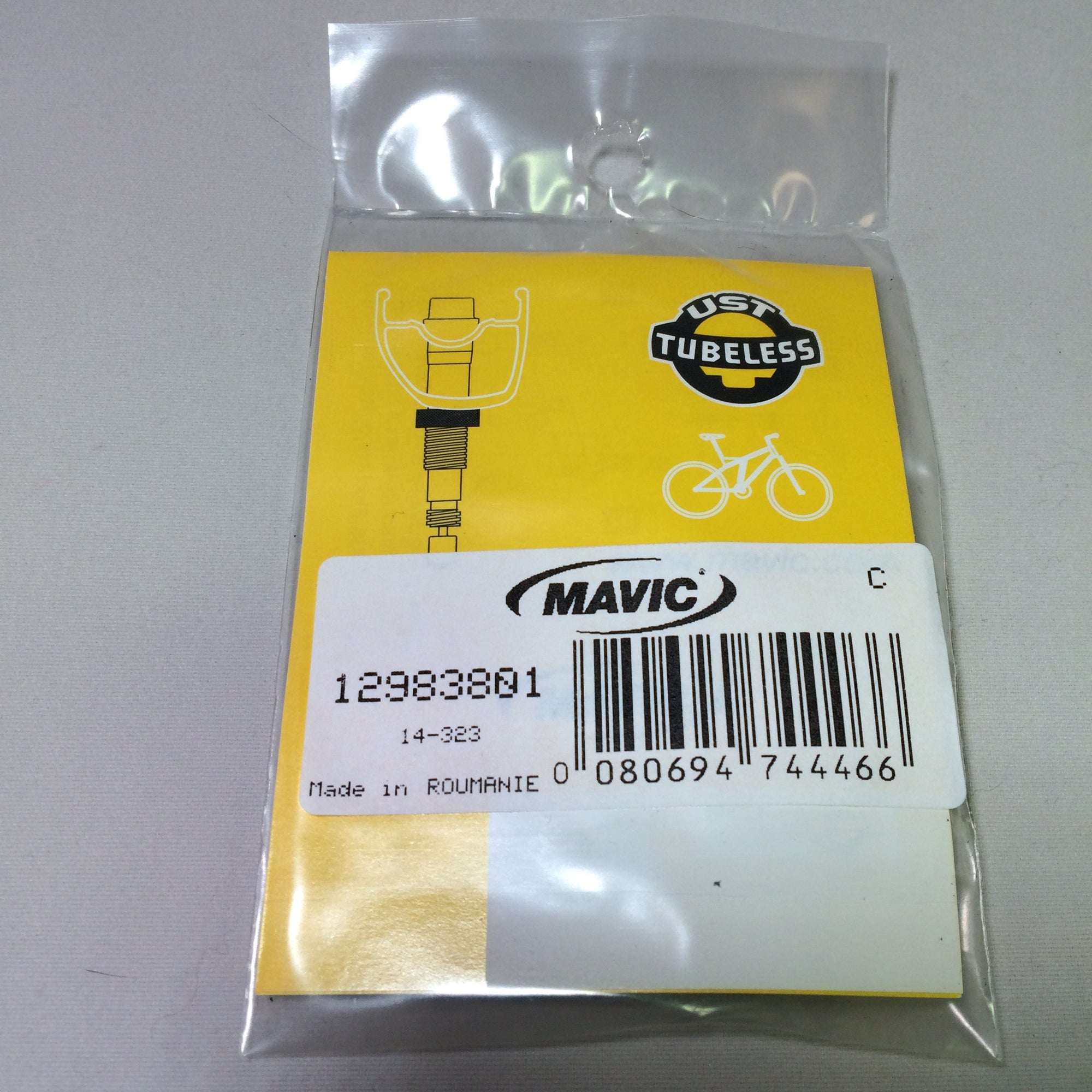 Mavic UST Tubeless Valve Stem Kit, Round 2012+