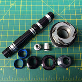 Mavic 308 715 01 Freehub body and axle kit