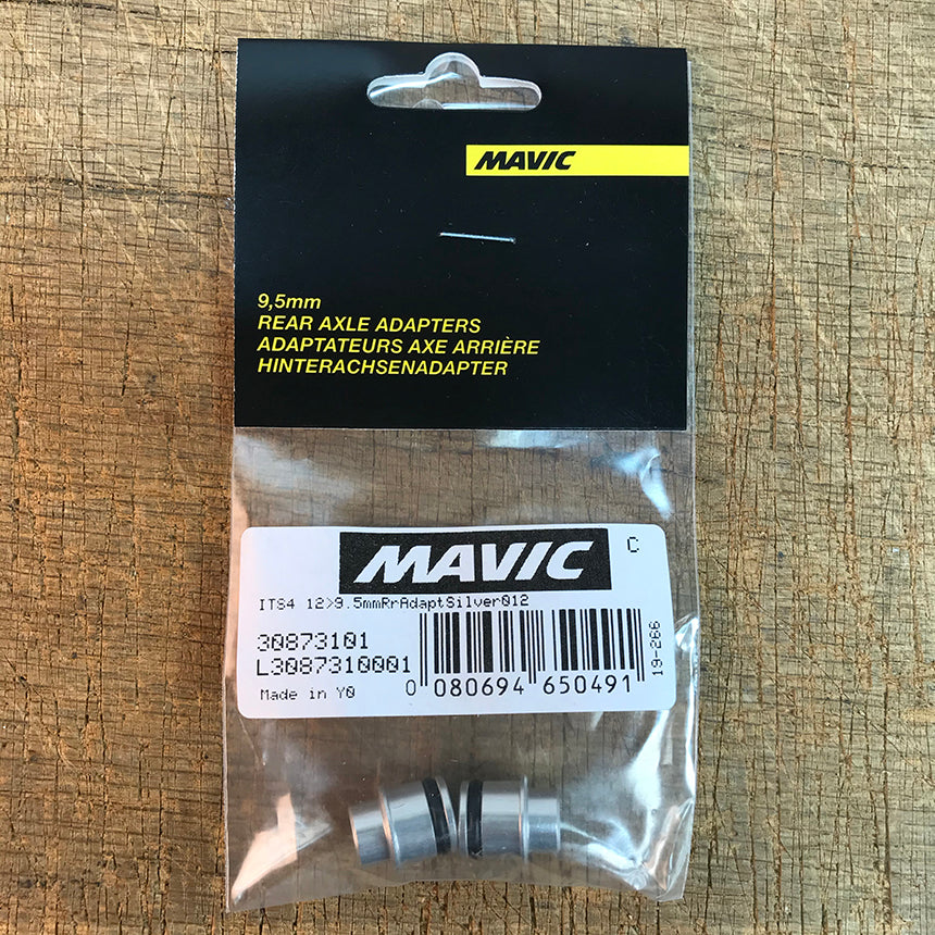 Mavic Rear Axle Adapters 12mm to 9.5mm Standard QR