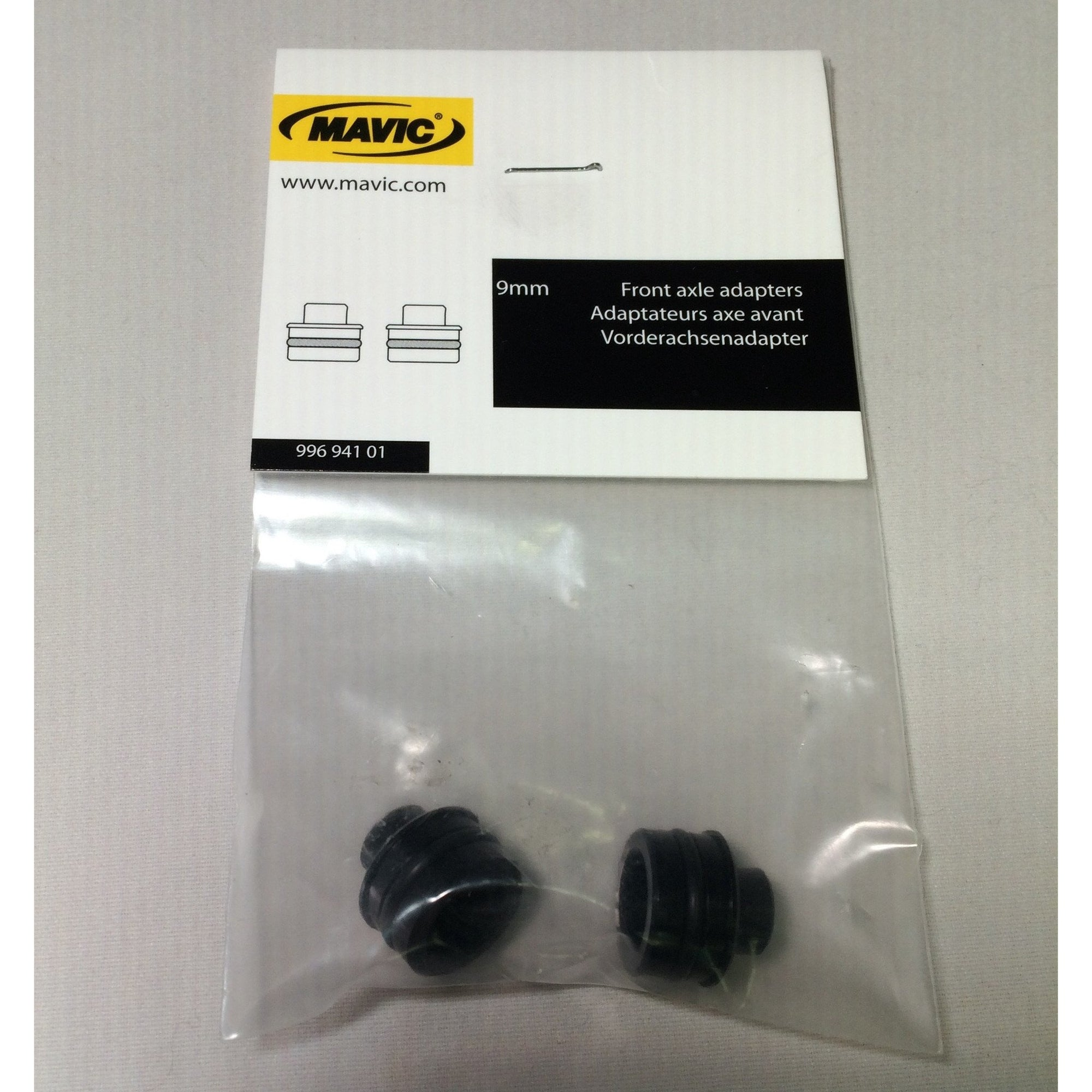 Mavic Front Axle Adapters 9mm to Standard QR Includes QR 99694101