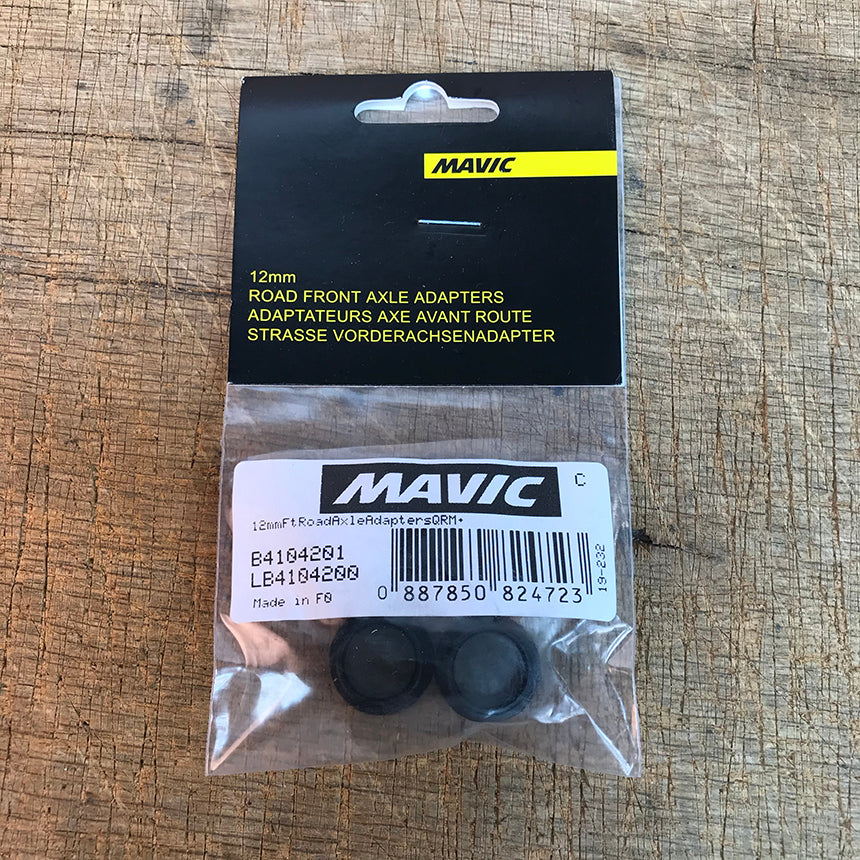 Mavic Front Road 12mm Axle Adapters - B4104201