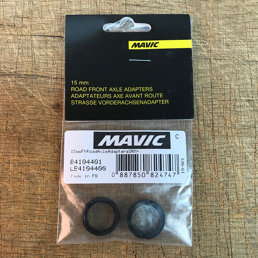 Mavic Front Road 15mm Axle Adapters - B4104401