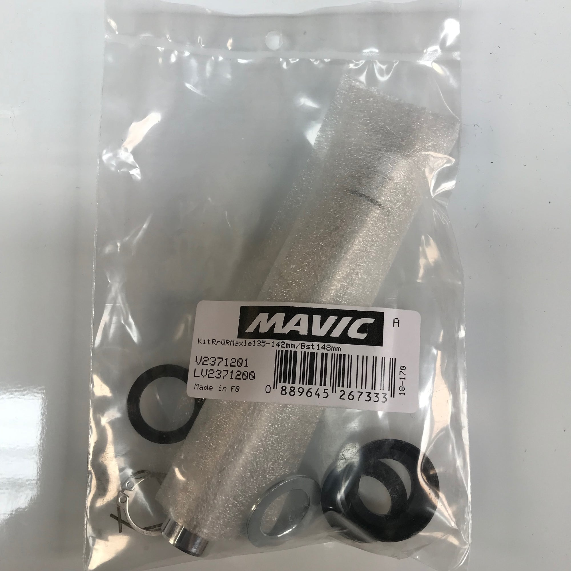 Mavic MTB QRM Rear Axle Kit - 135-142/Boost 148 V2371201