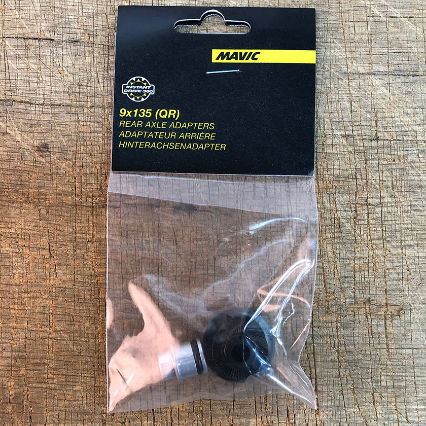 Mavic QRM Auto Rear Axle Adapters  9x135 - V2510801