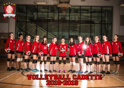 16A - Volleyball Cadette A- 5