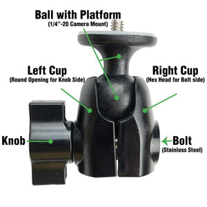 Right Cup (hex head for bolt)