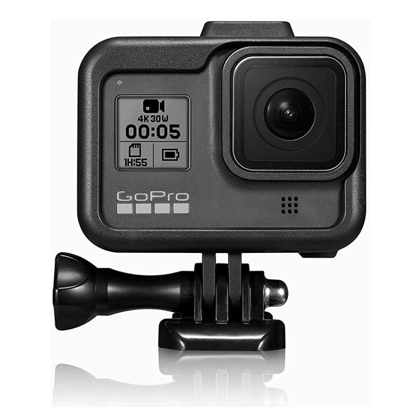 Case GoPro Hero 8 w/Cold Shoe Mic Attachment