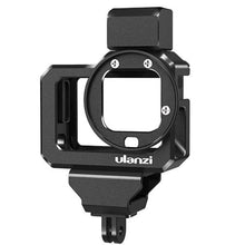 Frame for GoPro Hero 8 w/Audio Adapter & Cold Shoe Mic Attachment