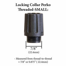 Locking Collar - Small Thread - Fits small threaded navigation light ports.