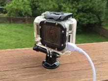 POWERCase: GoPro Case with open side for Power/Charging