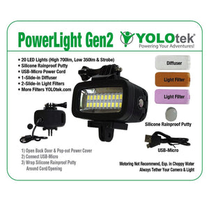 PowerLight-SOLO Gen2 (Light Only)