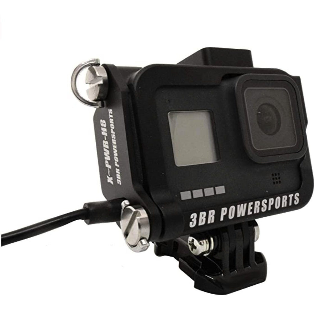 GH8 PowerCase RAINPROOF 3BR (SideDoor Replacement for GoPro Hero 8)