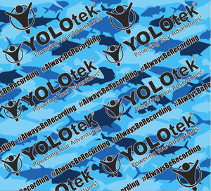 YOLOtek Gaiter / Face Mask BLUE