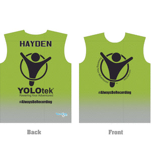 PERSONALIZED YOLOtek Dry Fit Shirt GREEN