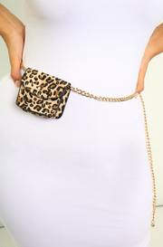 Leopard Mini Waist Bag