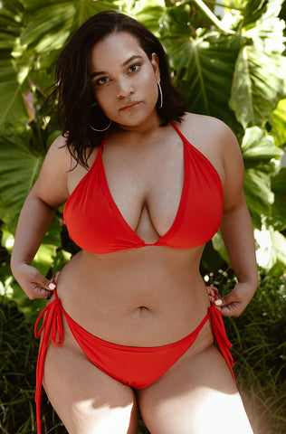 "1a8d95c31884f ... Denise Mercedes X Rebdolls ""Amarylis"" Bikini Top- Final Sale"