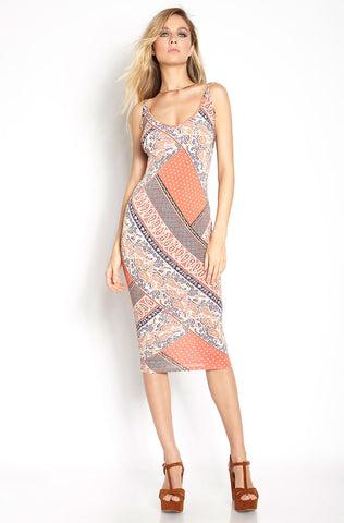 "Grisel. ""Truth or Dare"" Bodycon Cut-Out Dress - Final Sale Clearance"