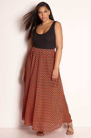 "Rebdolls ""Little Do You Know"" Pleated Skater Skirt"